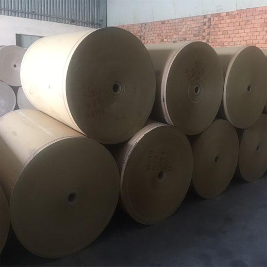 giấy bao bì cuộn vàng